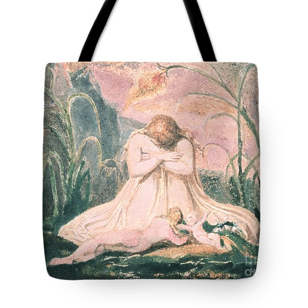 Book Of Thel Tote Bag by William Blake