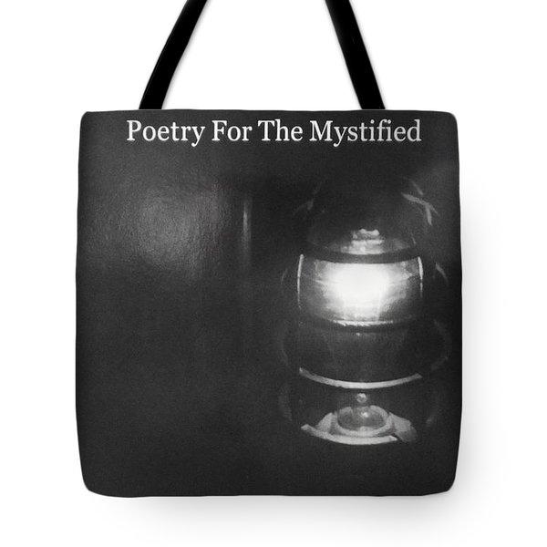 Book Pondering In The Dark Tote Bag
