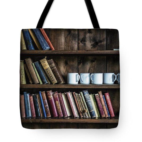 Book Shelf Tote Bag