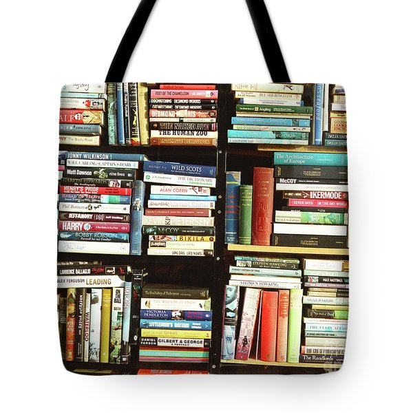 Tote Bag featuring the photograph Book Shop by Rebecca Harman