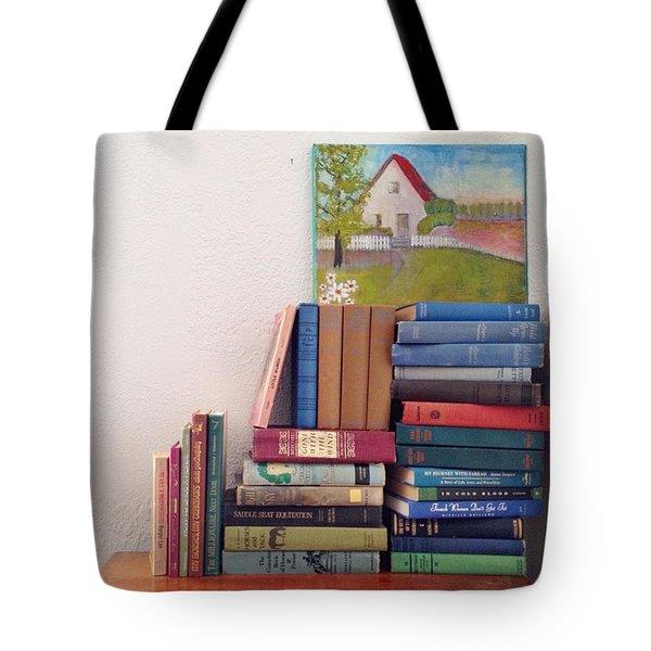 Book Stacks Full Of Old Classics Tote Bag