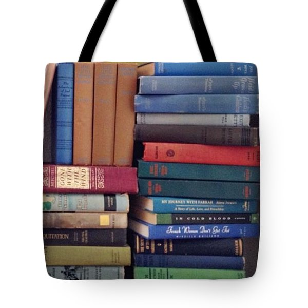 Book Stacks Full Of Old Classics Tote Bag
