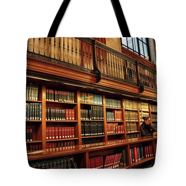 Tote Bag featuring the photograph Book Worm by Jessica Jenney
