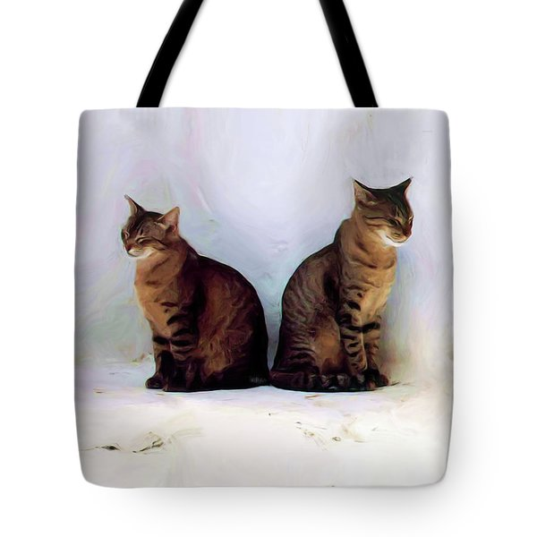 Bookends - Rdw250805 Tote Bag