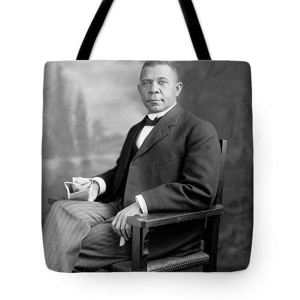 Booker T Washington Tote Bag