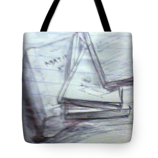 Books Tote Bag by Madhusudan Bishnoi