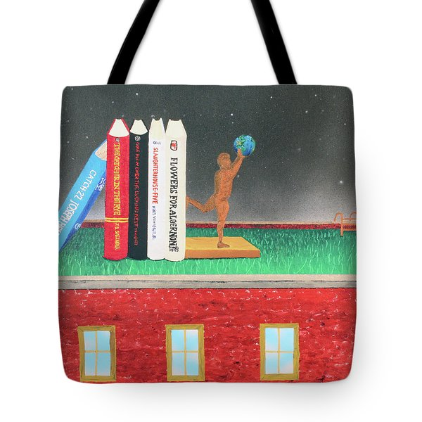 Books Of Knowledge Tote Bag