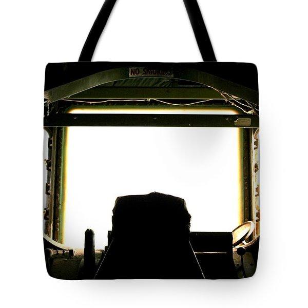 Boom Seat Tote Bag by David S Reynolds