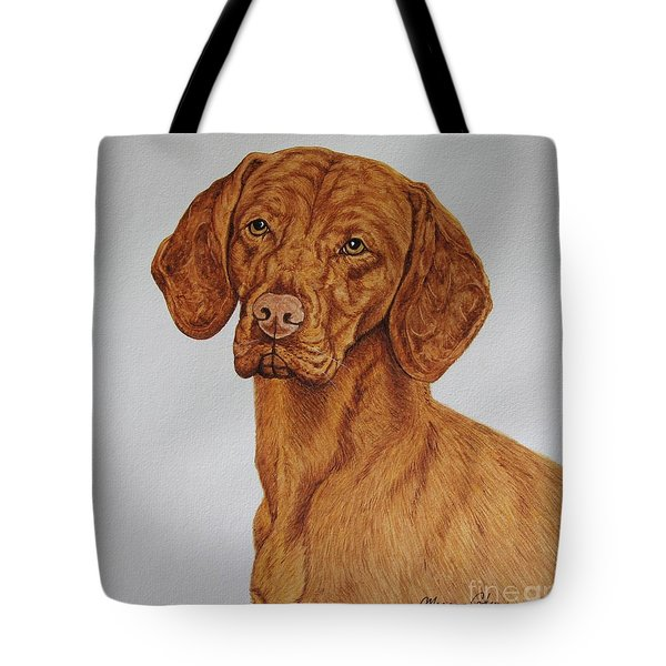 Boomer The Vizla Tote Bag