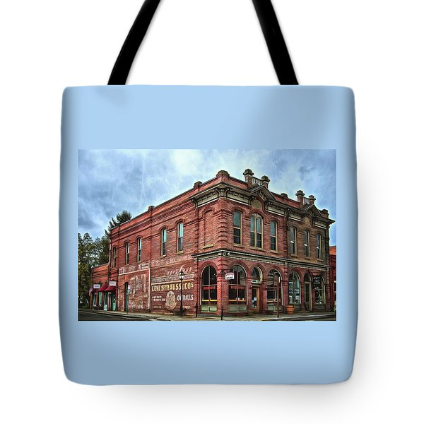 Boomtown Saloon Jacksonville Oregon Tote Bag