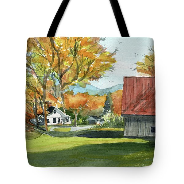 Boone Bungalow And Barn Tote Bag
