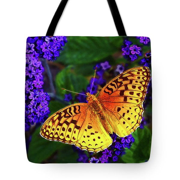 Boothbay Butterfly Tote Bag