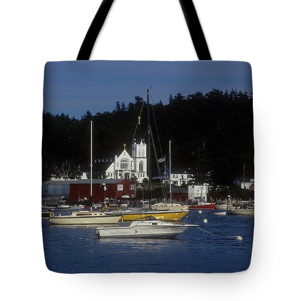 Boothbay Harbor Maine 2 Tote Bag