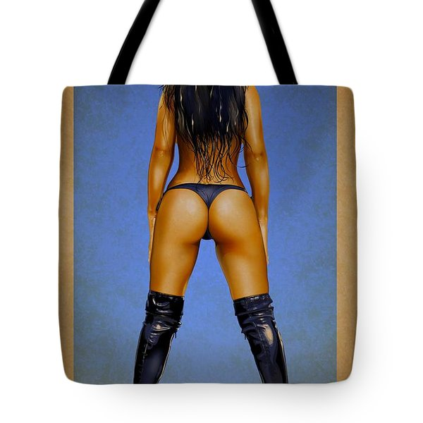 Booty Tote Bag by Brian Gibbs