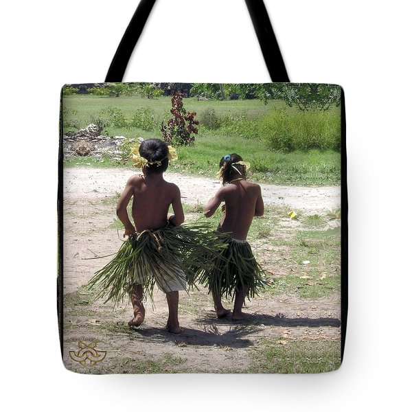 Booty Shaking Fanning Island Style Tote Bag