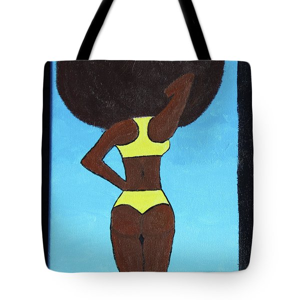 Bootylicious Tote Bag by Cyrionna The Cyerial Artist