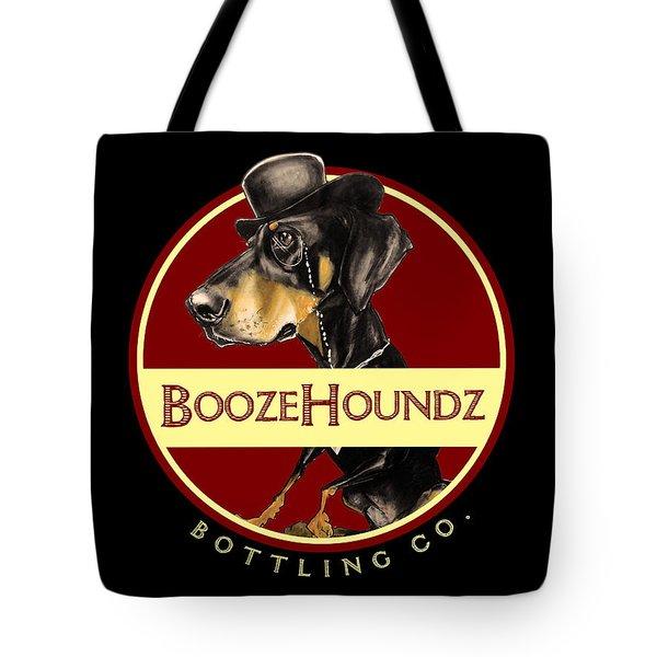 Boozehoundz Bottling Co. Tote Bag
