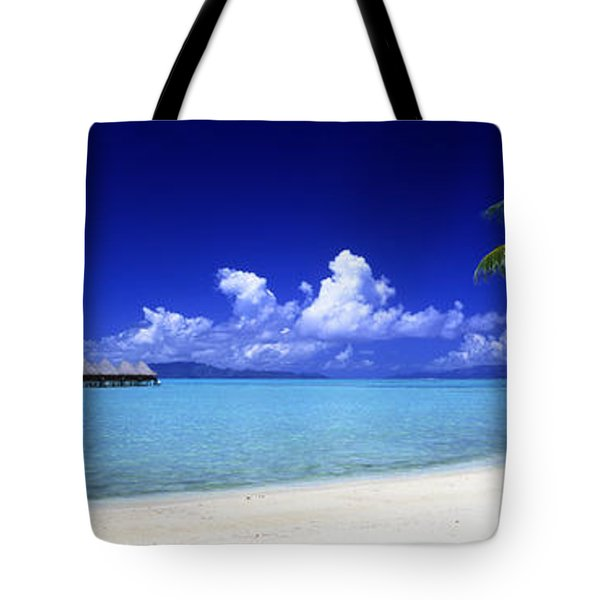 Bora Bora South Pacific Tote Bag by Panoramic Images