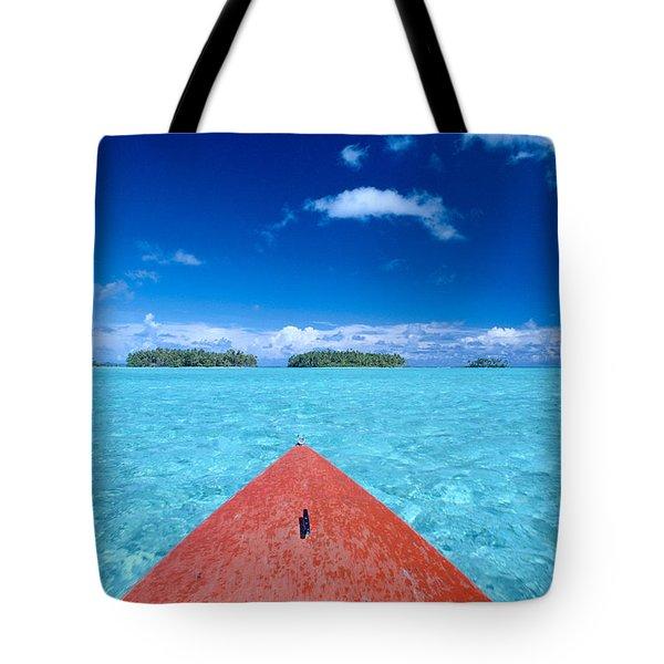 Bora Bora, View Tote Bag by William Waterfall - Printscapes