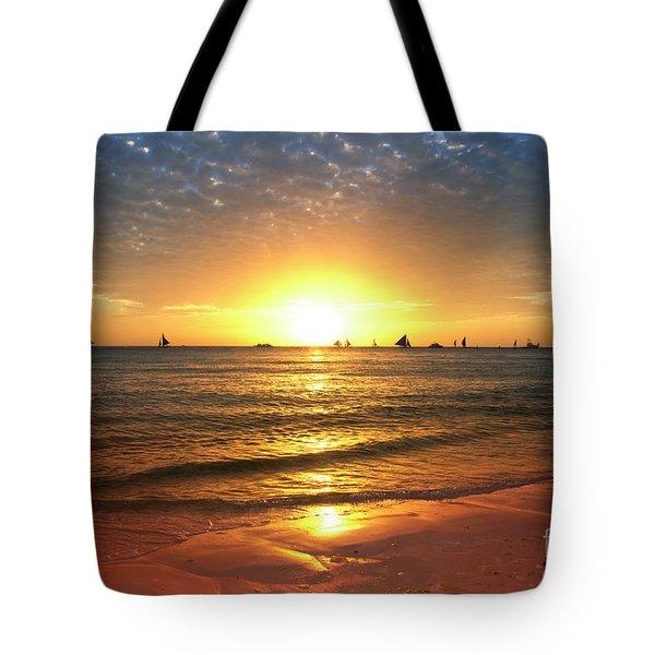 boracay,Philippians 4 Tote Bag