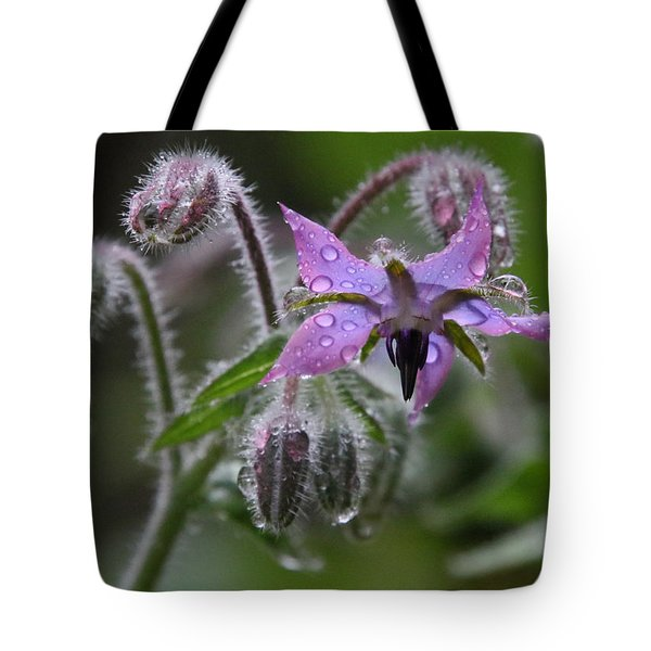 Borage Umbrella Tote Bag