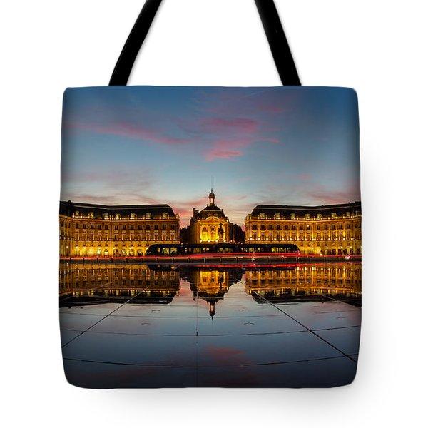 Bordeaux Reflections Tote Bag