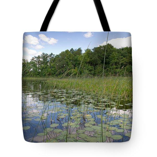 Borden Lake Lily Pads Tote Bag