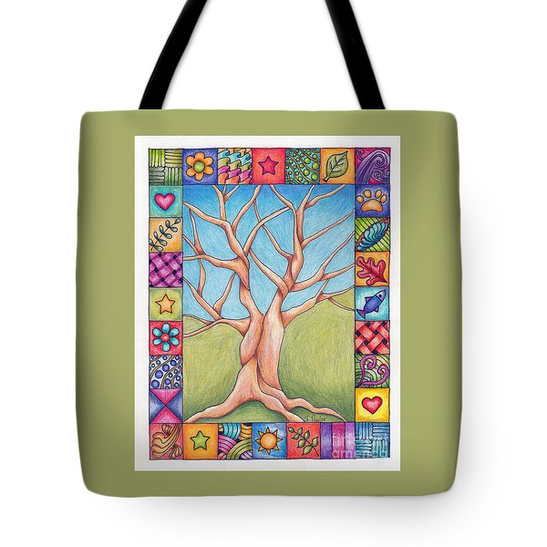 Border Of Life Tote Bag