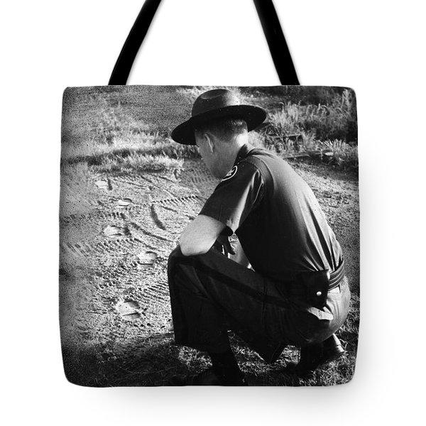 Border Patrol Inspector Tote Bag by Granger