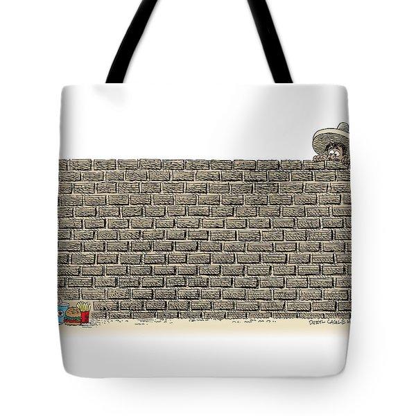 Border Wall Tote Bag