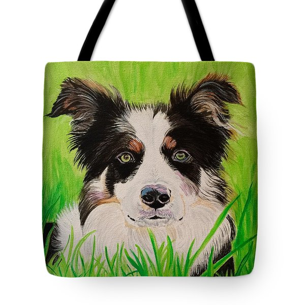 Bordering On Paradise Tote Bag