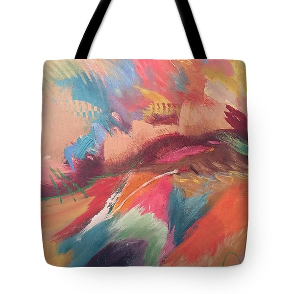 Borderland Tote Bag