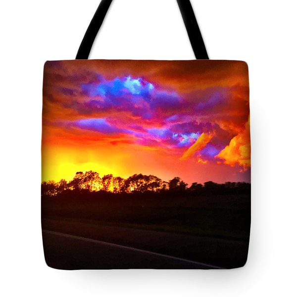 Borderline Tote Bag