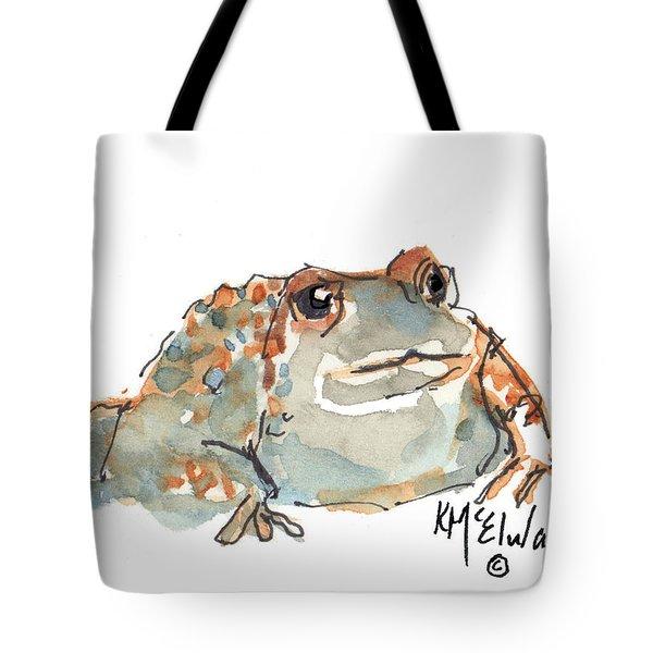 Boreal Chorus Frog Tote Bag by Kathleen McElwaine