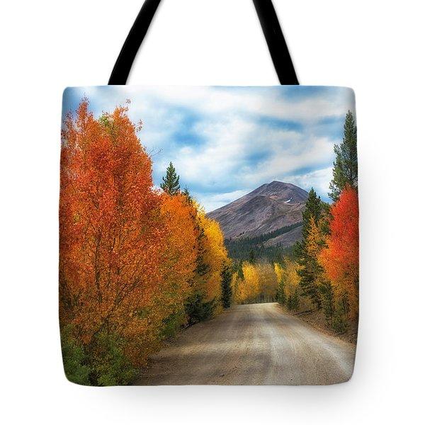 Boreas Mountain Tote Bag