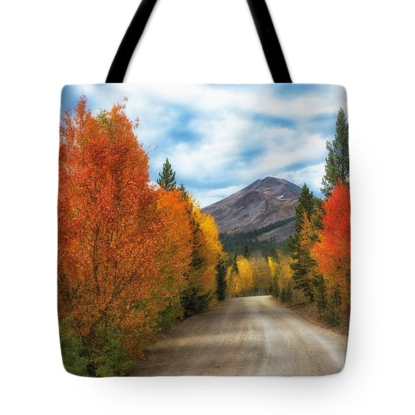 Boreas Mountain Tote Bag