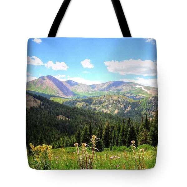 Boreas Pass Colorado Tote Bag