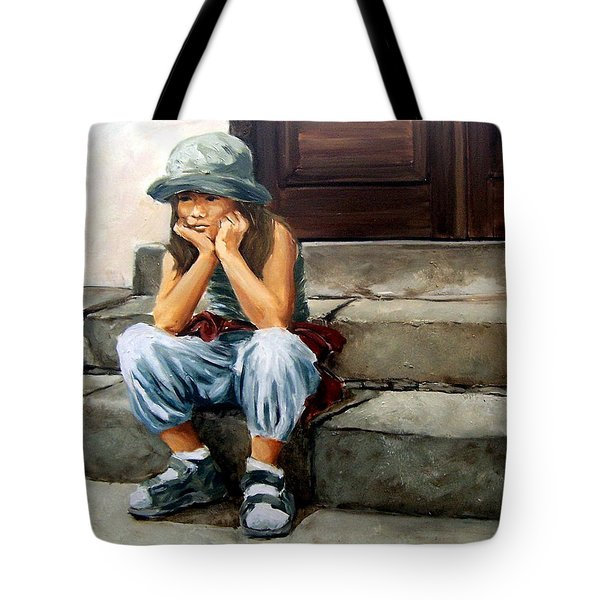 Bored Tote Bag by Natalia Tejera