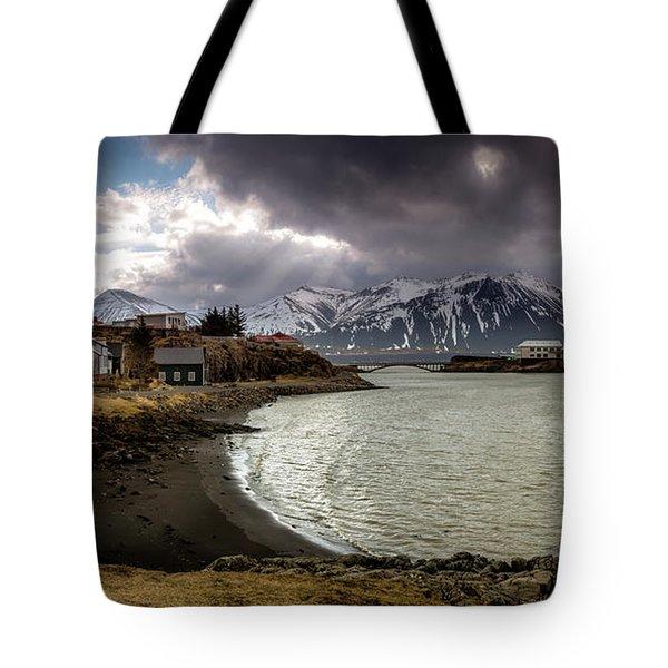 Borganes Light Show Tote Bag