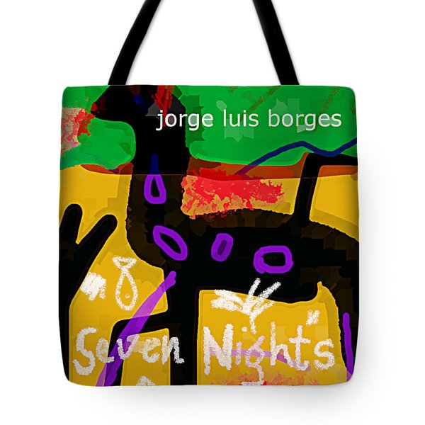 Borges Seven Nights Poster  Tote Bag