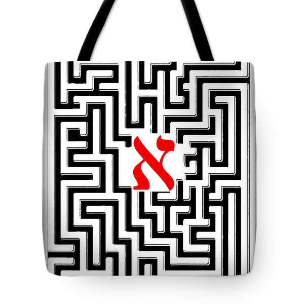 Borges' Aleph Poster Tote Bag
