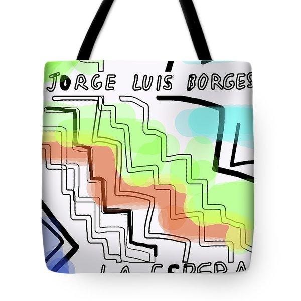 Borges The Wait Short Story  Tote Bag