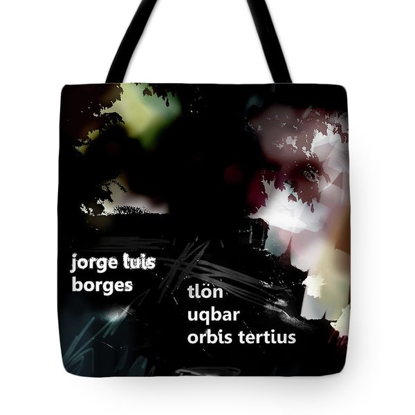 Borges Tlon Poster  Tote Bag