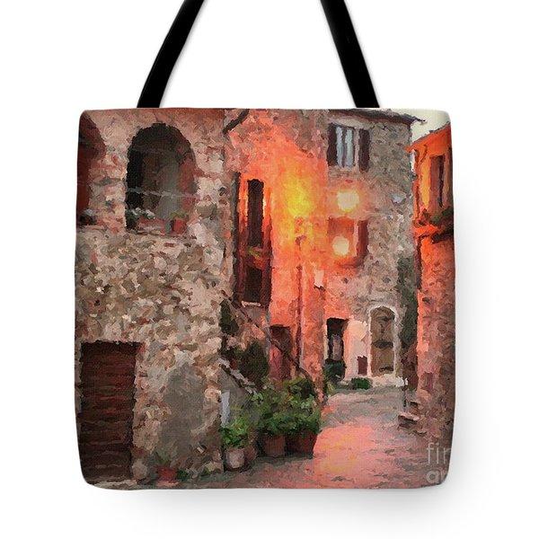 Borgo Medievale Tote Bag