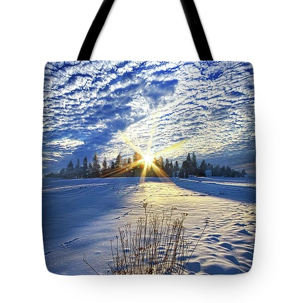 Tote Bag featuring the photograph Born As We Are by Phil Koch