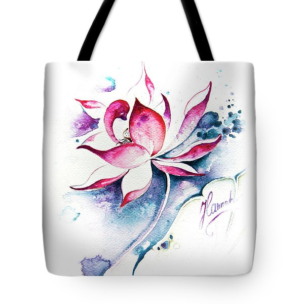 Born For Freedom Tote Bag by Anna Ewa Miarczynska