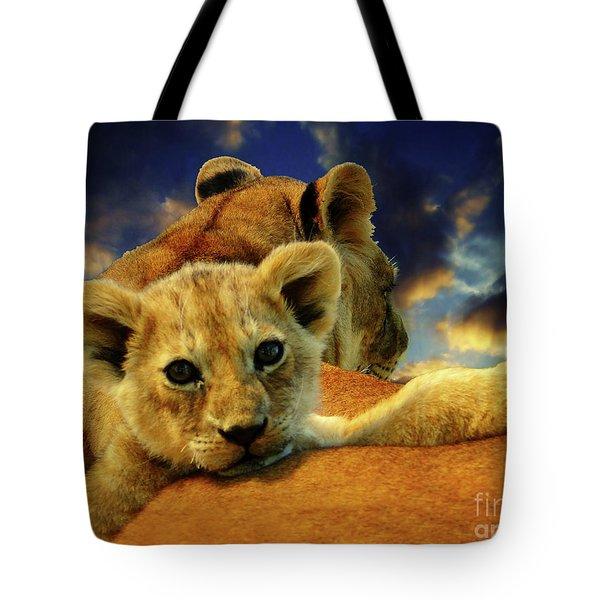 Born Free IIi Tote Bag