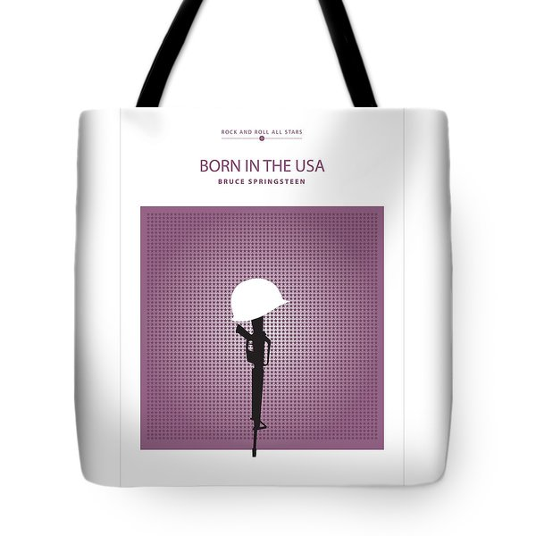 Born In The Usa -- Bruce Springsteen Tote Bag