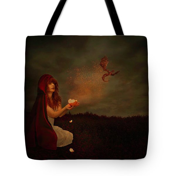 Born Of Magic Tote Bag