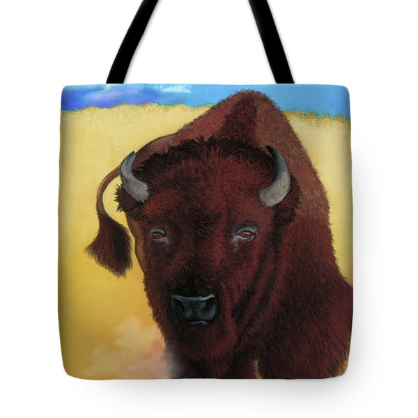 Born Of Thunder Tote Bag by Tracy L Teeter